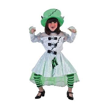 Disfraz de novia Frankenstein niña: Amazon.es: Juguetes y juegos