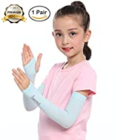 SHINYMOD UV Protection Cooling or Warmer Arm Sleeves for Men Women Kids Sunblock Protective Gloves Running Golf Cycling Driving 1 Pair/3 Pairs/5 Pairs Long Tattoo Cover Arm Warmer