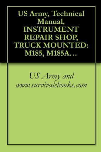 US Army, Technical Manual, INSTRUMENT REPAIR SHOP, for sale  Delivered anywhere in USA