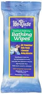 No Rinse Cleansing & Deodorizing Bathing Wipes - 8 ea
