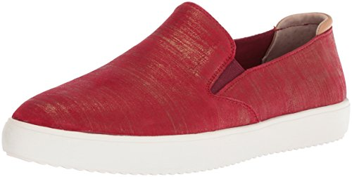 Marchio Nason Los Angeles Womens Holiday Sneaker Rosso