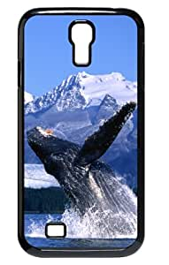Whale and Fish Friend Black/white Phone Case for Samsung Galaxy S4 I9500