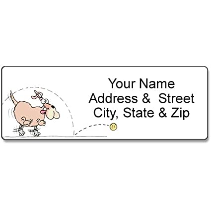 amazon com dog address label customized return address label