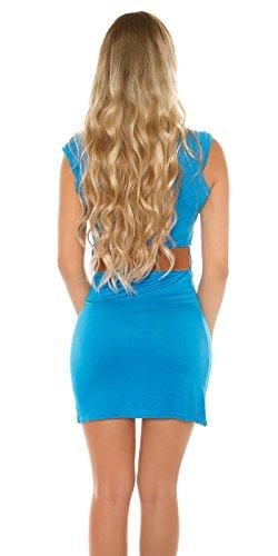 KouCla - Vestido - para mujer azul zafiro