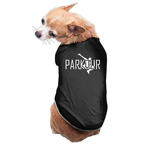 LFISH3 Parkour Art Sports Comfy Pet Shirt Dog Cat Costume - Minecraft Costume Fail