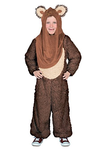 [Princess Paradise Boys Classic Star Wars Premium Wicket Jumpsuit, Brown, Large] (Ewok Star Wars Costume)