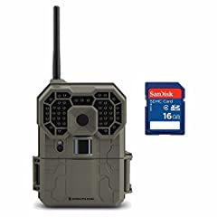 Now you can view all your trail camera photos and videos even when you can't make it out into the field. With the Stealth Cam GXW 12MP Infrared Wireless Game Camera, you can view your media from anywhere - even from the break room during lunc...