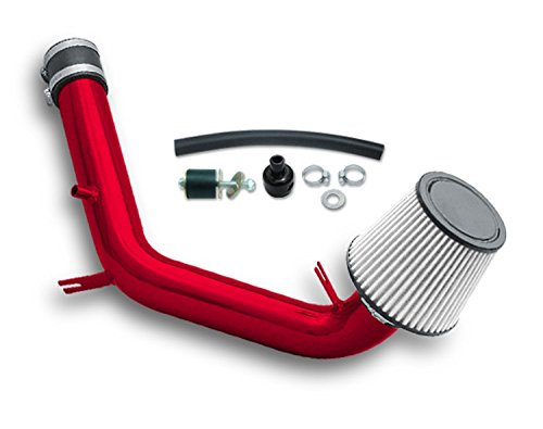ZMAUTOPARTS VW Jetta Iv 2.0L Golf Cold Air Intake+Filter Red - Cold Air Intake Volkswagen Jetta