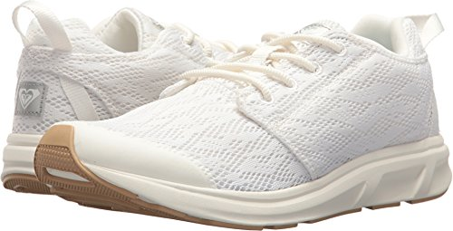 Roxy Women's Set Session Athletic Walking Shoe Running, White, 8 M US