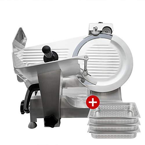 - Commercial Meat Slicer 14 Inch Blade, Heavy Duty Food Slicer Aluminum Deli 1/2 HP, PREPPAL PPSL-14