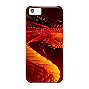 Durable Dragon Back Case/cover For Iphone 5c