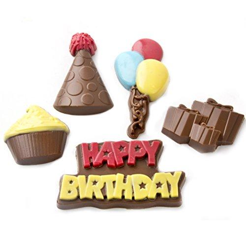 Birthday Painted Chocolate Greeting Belgian product image