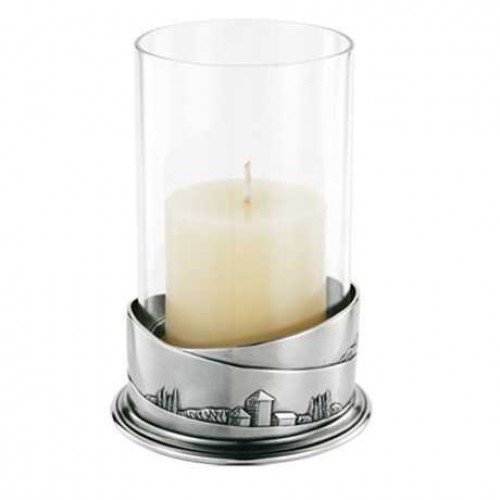 Royal Selangor Hand Finished Pewter Tuscan Candlestand