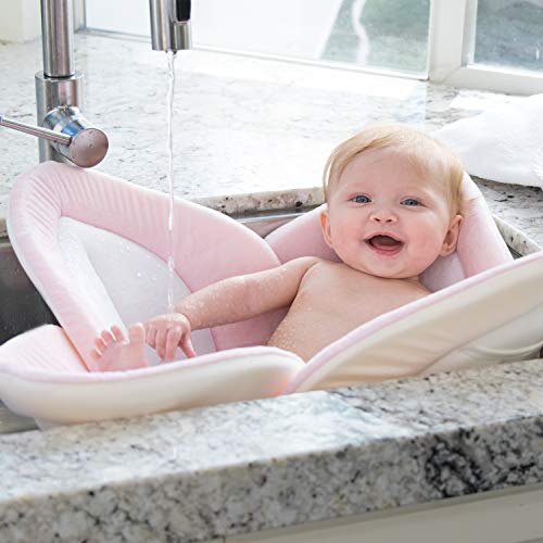 Blooming Bath Lotus - Baby Bath (Pink/White/Gray)