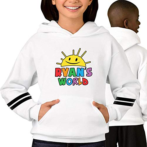 Ryan's World Youth Hoodies Sweatshirt Unisex Sweater Pullover for Boys and Girls -