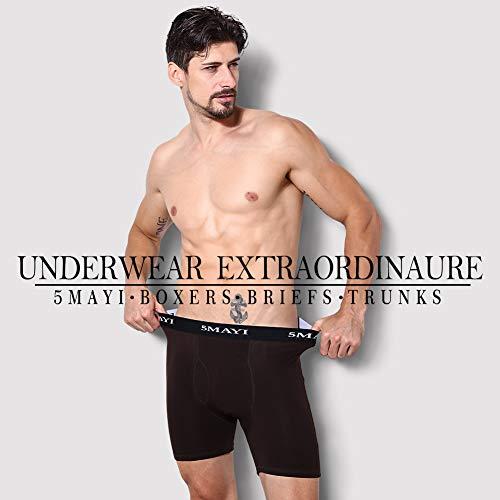 5Mayi Mens Boxers Shorts Cotton Mens Underwear Trunks Mens Boxers S M L XL XXL