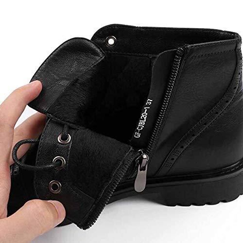 Pelle Martin Donna In Antiscivolo Stivaletti Esterno Da Brown Sportive Warming Winter Scarpe Boots p5ABxwfxq