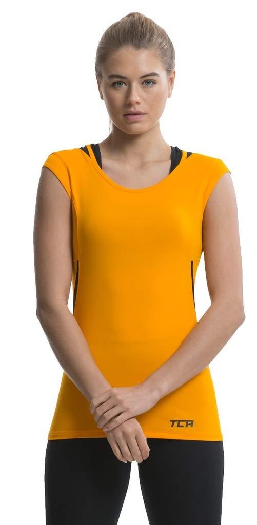 TCA Tech Damen Quickdry Laufshirt/Funktionsshirt - Ärmellos