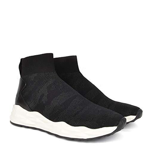Trainer Ash Footwear Camo Noir Black Skye Knit QrdxsthCB