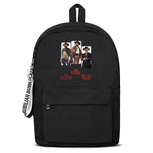 Men's Women Backpack Canvas for School Rucksack Cheap Durable Bookbag