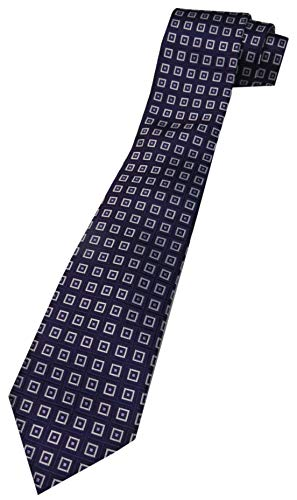 Donald Trump Signature Collection Neck Tie Purple and Silver - Trump Signature Collection