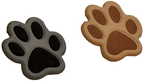 Eyelet Outlet Shape Brads, Paws, 12-Pack