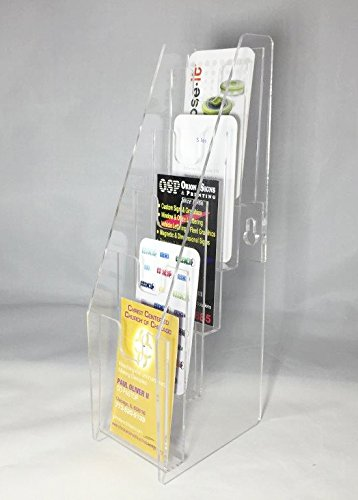 Amazon fixturedisplays 5 tier vertical business card holder fixturedisplays 5 tier vertical business card holder display 19757b reheart Image collections