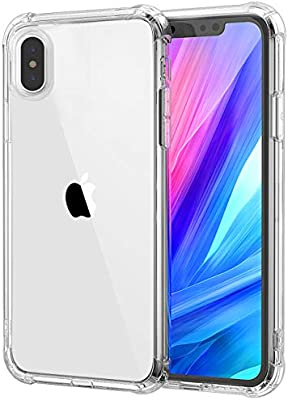 Garegce Custodia iPhone XS Max TPU Morbido Silicone Bumper Cover