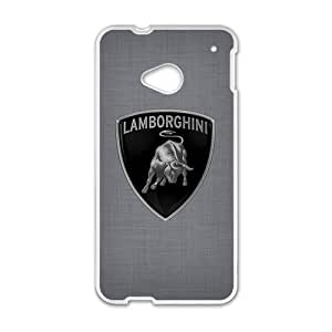 Happy Lamborghini sign fashion cell phone case for HTC One M7