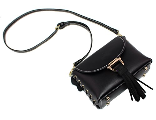 Purse Cute For Women Bag Cross Body Black Small Handbags Genuine Leather Shoulder TqHBR8TS