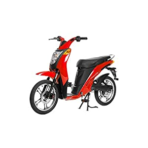 Jetson Lithium Ion Powered Eco-Friendly Electric Bike - Red