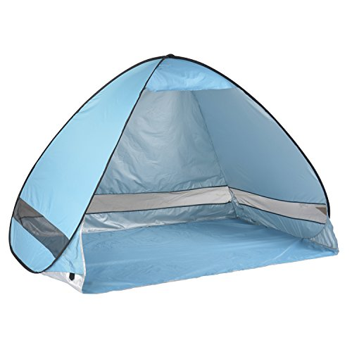 Portable Pop Up Shelters : Oversized pop up beach tent sun shelters automatic xxl