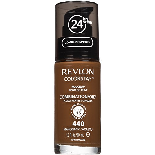 Price comparison product image Revlon ColorStay Liquid Makeup for Combination/Oily, Mahogany