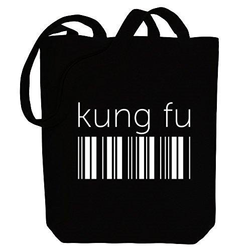 Idakoos Kung Fu barcode - Sport - Bereich für Taschen