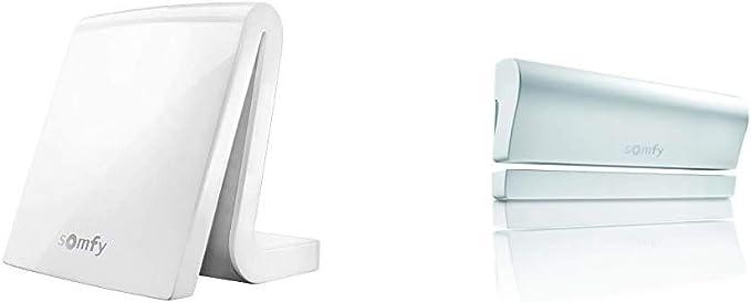 Somfy 2401354 Tahoma Premium Smart Home Steuerung Für Vernetztes Haus Weiß 2401362 Tahoma Öffnungsmelder Io Fenster Türen Inkl Batterien Weiß Baumarkt
