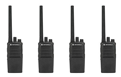 4 Pack of Motorola RMV2080 Business Two-Way Radio 2 Watts/8 Channels Military Spec by Motorola