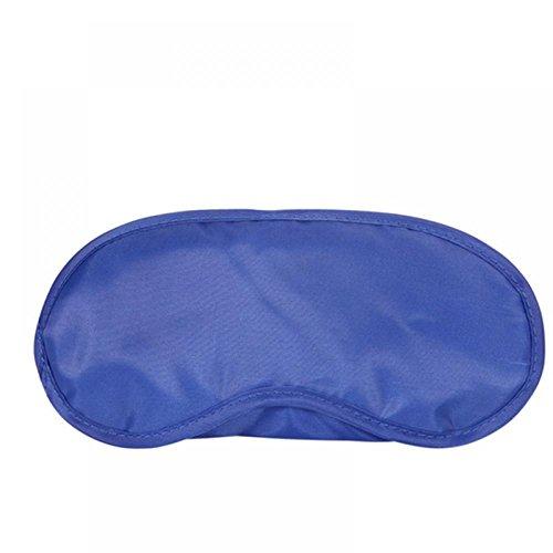 1 PCS Travel Sleep Rest Sleeping Aid Mask Eye Shade Cover Comfort Blindfold Shield Blue