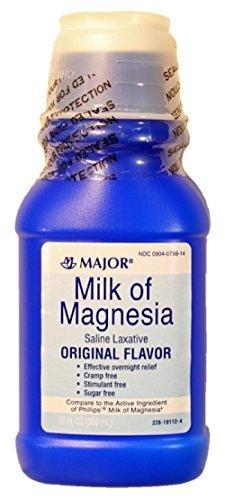 IA ORIG MAGNESIUM HYDROXIDE-400 MG/5ML White 12OZ UPC 309040788146 by Major Pharmaceuticals (Magnesium Hydroxide Milk Of Magnesia)