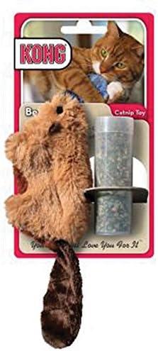 Amazon Com Kong Beaver Refillable Catnip Toy Colors Vary Cat
