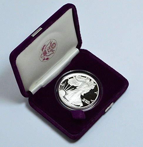 1986 S Proof Silver American Eagle Dollar PF70