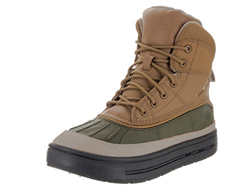 Nike Woodside 2 High Big Kids (GS) Shoes Cargo Khaki/Golden Beige 524872-301 (5 M US) (Nike Acg Boots Woodside)
