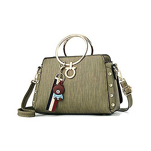 Size Yellow à Sacs Yellow Handbag pour Femme bandoulière One n0XHX7