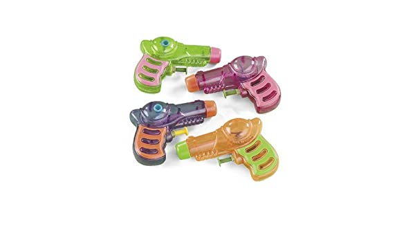 Amazon.com: 12 Neon Grip Squirt Guns: Toys & Games