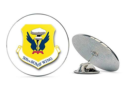 - US Air Force 509th Bomb Wing Military Veteran USA Pride Served Gift Metal 0.75