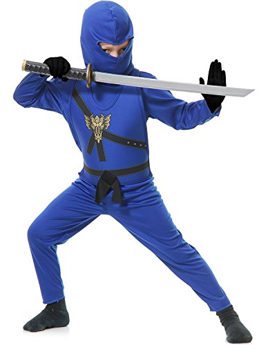 Ninja Avenger Child Costume Blue - Small