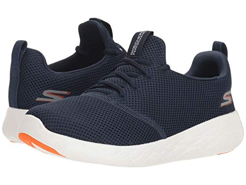 [SKECHERS(スケッチャーズ)] メンズスニーカー?ランニングシューズ?靴 Go Run 600 55076 Navy/Orange 13 (31cm) D - Medium