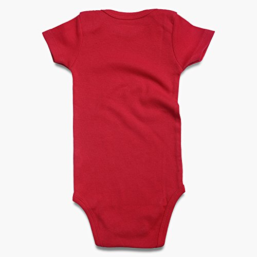 ROMPERINBOX Place Unisex Baby Bodysuits 100% Cotton 0-24 Months (6-9 Months, Black White Grey Navy Red Short Sleeve) by ROMPERINBOX (Image #3)