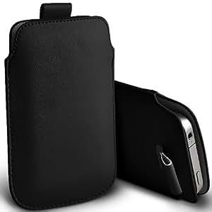ONX3 Acer Liquid Mini E310 Negro PU Tire Tab Case bolsa protectora