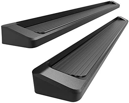 iBoard Black Running Boards Style Fit 19-20 Dodge Ram 1500 Crew Cab