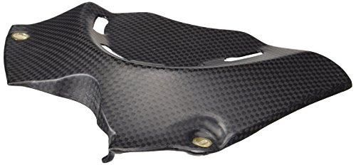 Bestem CBDU-DVL-SPC-F Black Carbon Fiber Matte Finish Sprocket Cover for Ducati Diavel